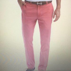 Vineyard Vines Men's Nantucket Red Pants size 38